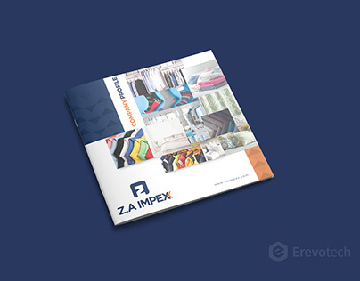 Textile & Clothing Products Catalogue Design -Z.A Impex