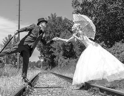 Hochzeit in Marry Poppins Style