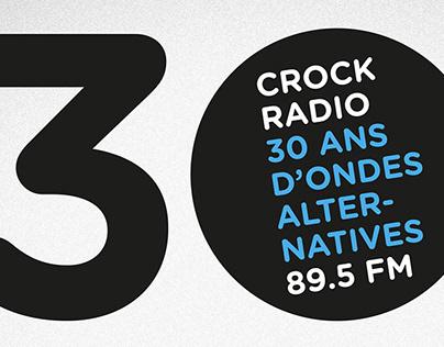 Crock Radio – 30 ans