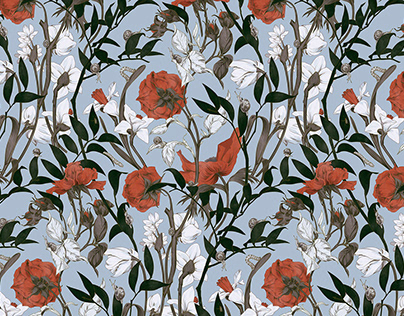 Seamless pattern Another side