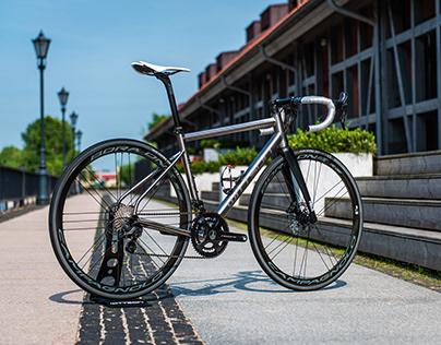 Wittson titanium road disc bicycle Illuminati 296