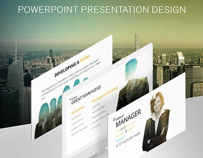 POWUR Presentation Design