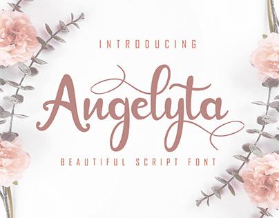 Angelyta beautiful script