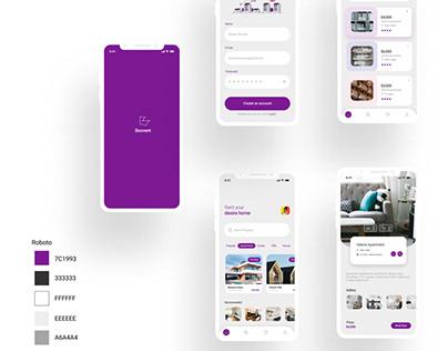 Home Rental UI Design