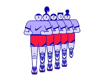 Nike x Giphy Animated GIFs