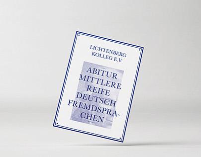 Lichtenberg Kolleg - Rebranding