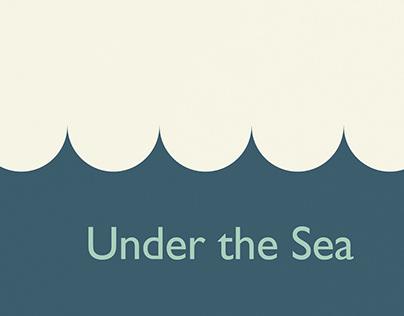 Under the Sea: A Type Specimen Book