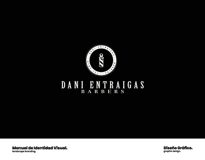 Design · Visual ID | Dani Entraigas Barbers 2019