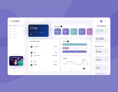 Finance Web App Dashboard