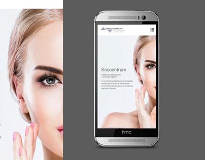 Mobile website Clinic Poland