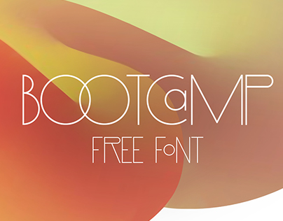 BOOTCAMP FREE FONT