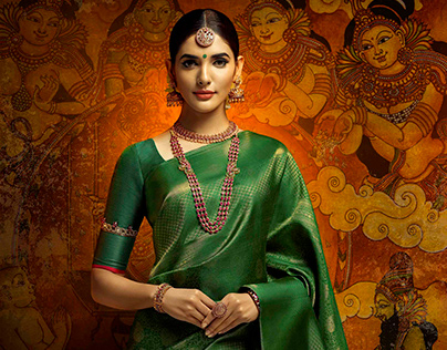 Commercial Work-Sarees