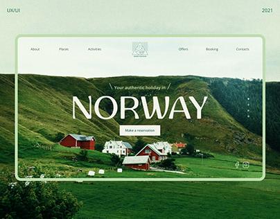 NORTGREEN/Tour Operator Website Concept