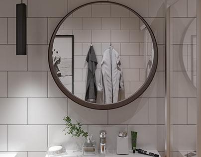 Bathroom. Designer @margoshamargo