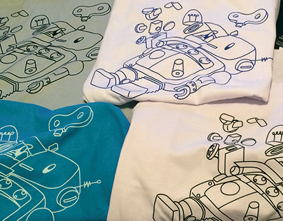Toy Bot T-shirt