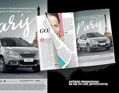 Anúncio VDL - Revista Meon