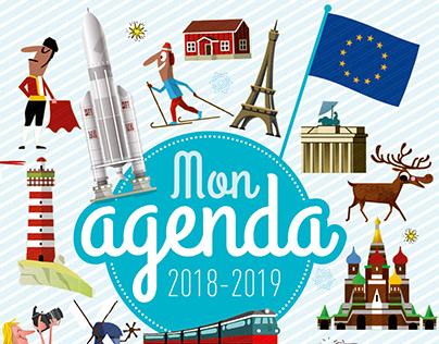 MON AGENDA Editions Bayard Jeunesse Agenda scolaire
