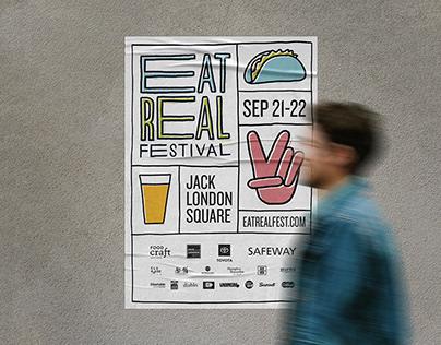 Eat Real Festival Branding