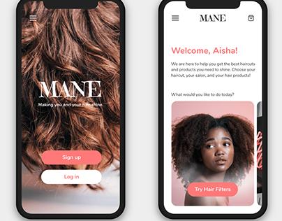 App | MANE Hair Filter