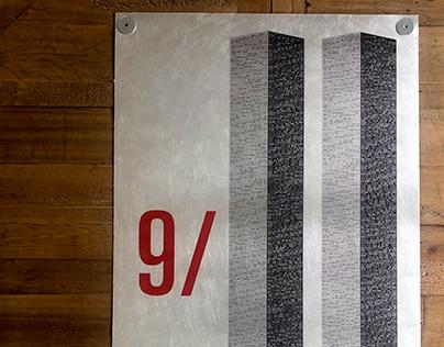 9/11 Metal Poster