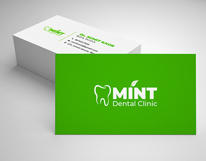 Mint Dental Clinic Branding