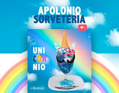 Social Media | Apolonio Sorveteria - 2019