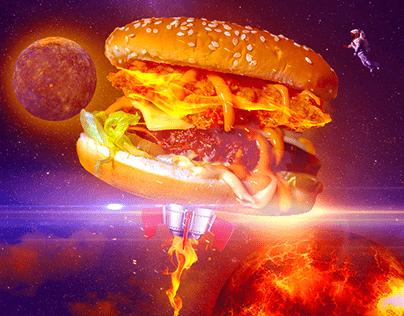 Burger Grip | Creative Ad