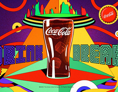 Coca-Cola x Twitch 'Drink Break' Vectorworld