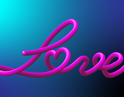 3d text by blend tool in Adobe illustrator 2020
