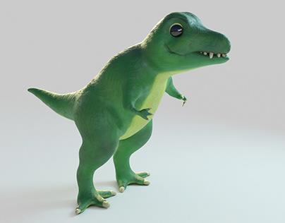 #3DSanta_Catoonie Dino