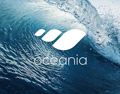 Oceania logo design