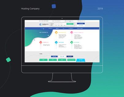 Web UI UX Design for Website | Hosting