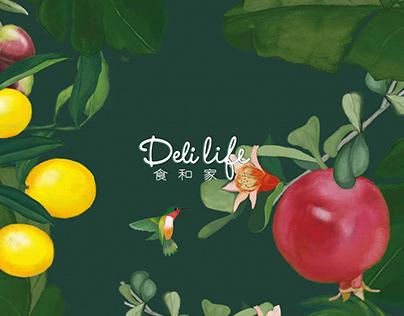 Delilife Branding VI Design