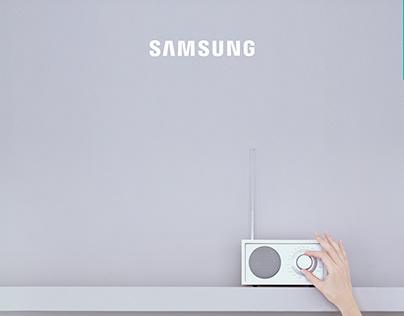 SAMSUNG. CAMPAÑA RADIO