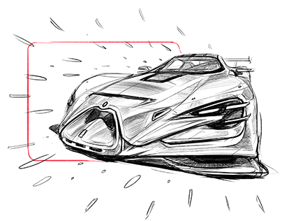 Conceptcar Sketch