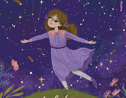 The Girl, Who Became an Astronomer Picture Book