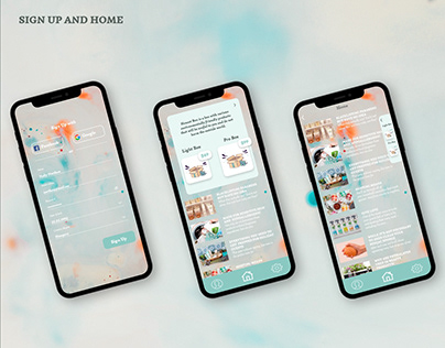 Design Mobile App for eco products by subscription