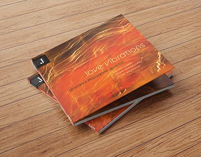 """Grafica CD """"Love Vibrations"""" di Giovanni Mazzarino"""