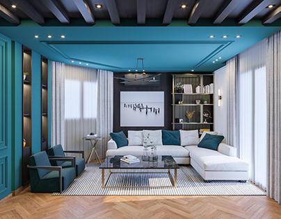 animation Living Room