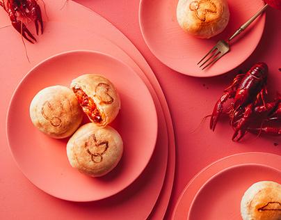 PIZZA HUT China. Crayfish Cracker