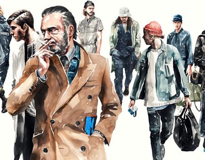 Fashion Illustration series