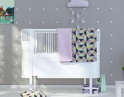 Sebra bed