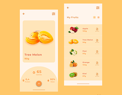 Fruit Application #_thedesignproject Day 10 / 30