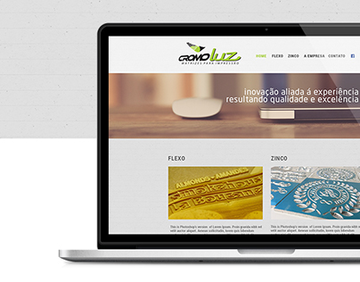 Website - Cromoluz