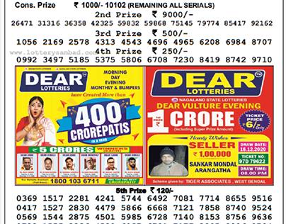 Lottery sambad result view