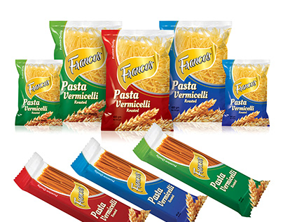 Francos Pasta Vermicelli Packaging