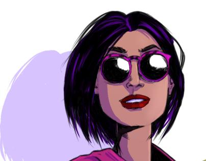Woman w/Sunglasses