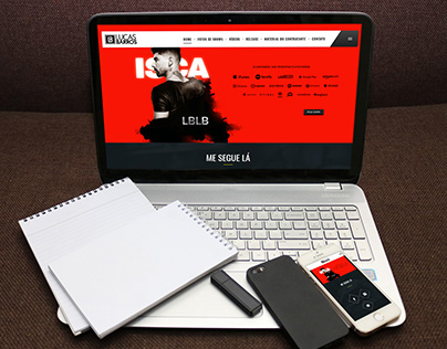 Website Lucas Barros