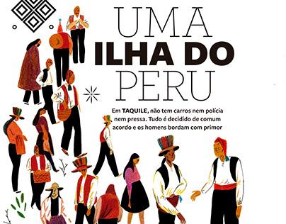 Taquile, Uma Ilha do Peru - Revista Viagem e Turismo
