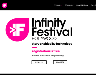 Infinity Festival Hollywood Flagship Website